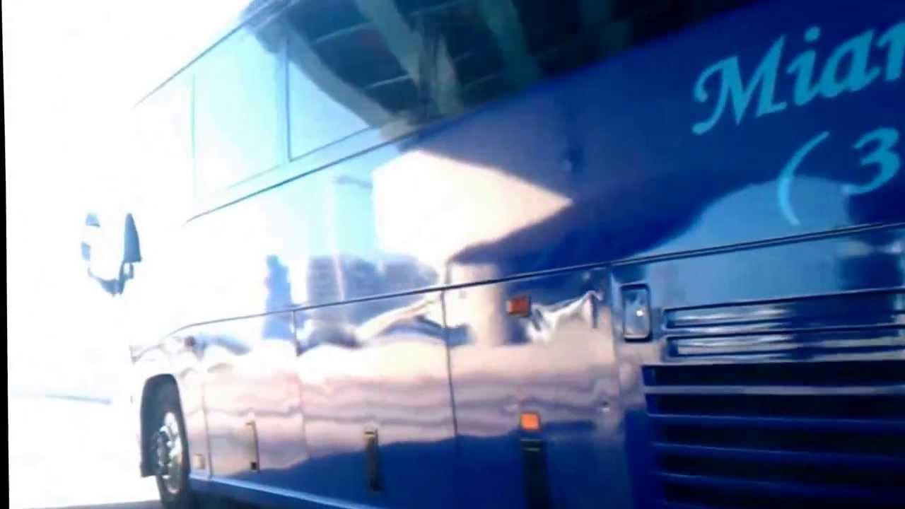 Miami Charter Bus Charter Bus Rental Miami