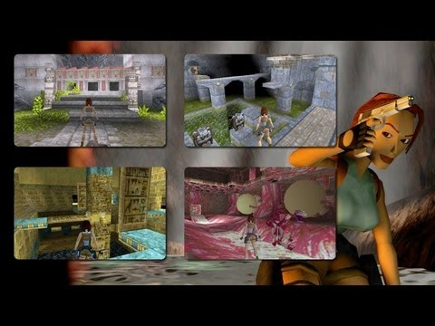 Tomb Raider 1 [1996] Gameplay