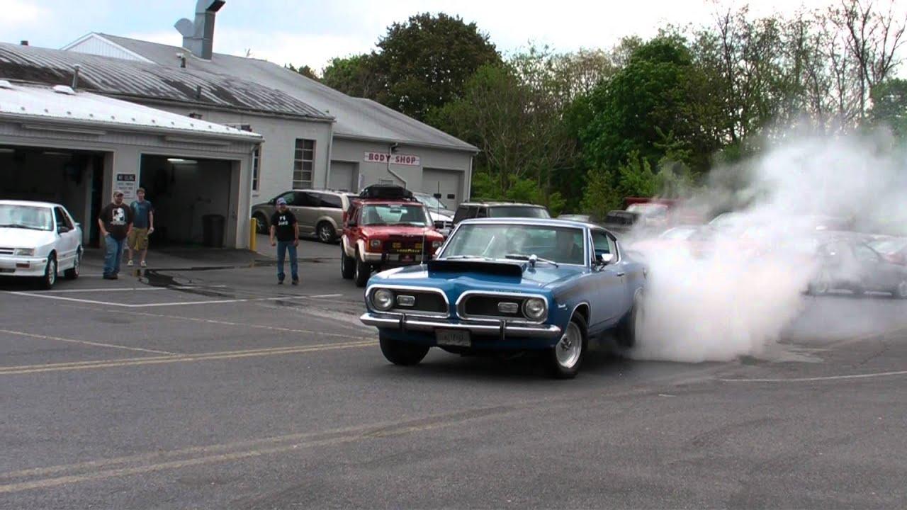 1969 Plymouth Barracuda Roasts The Slicks Youtube