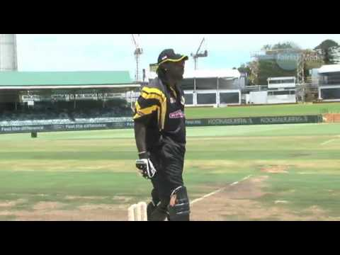 Chris Gayle smashes 36 off an over...for charity