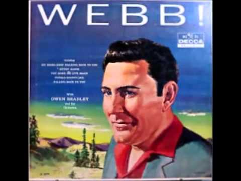 Webb Pierce - I Wont Be Crying Anymore