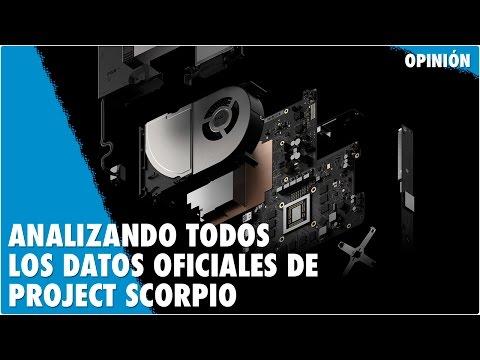 Izando Todos Los Datos Oficiales De Project Scorpio