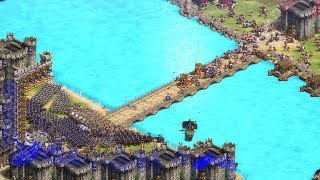 BRIDGE LAST STAND - Age of Empires 2 Definitive Edition