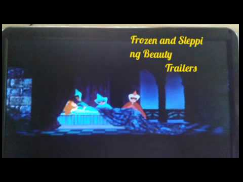 Frozen and Sleeping Beauty Trailers