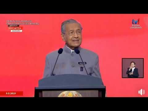 Tun Mahathir: Ucapan Ulang Tahun Malaysia Baharu