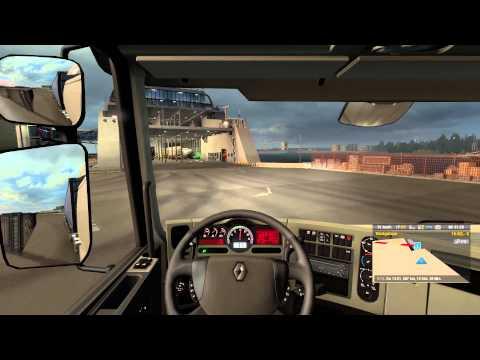 #522 Let's Play Euro Truck Simulator 2 - E3 - Foto Alarm