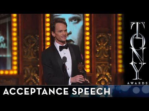2014 Tony Awards - Neil Patrick Harris - Best Performance by an Actor in a Leading Role in a Musical