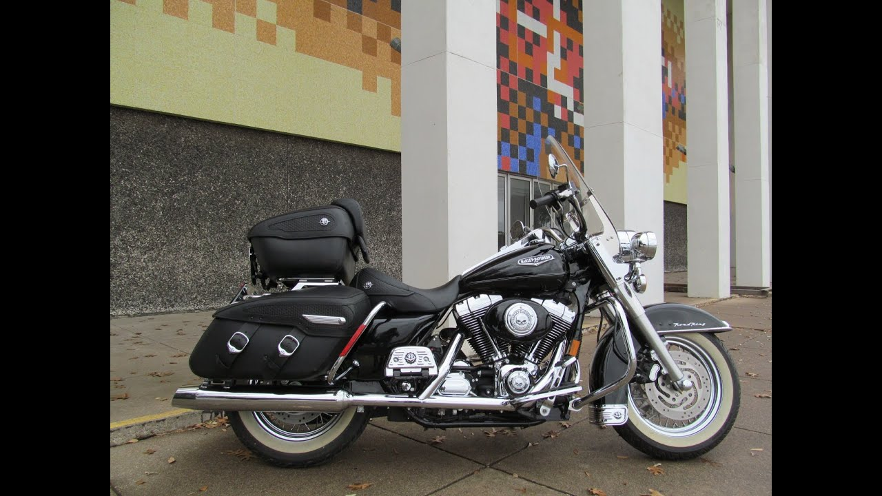 Harley Road King For Sale >> 2005 Harley-Davidson Road King Classic FLHRCI - YouTube