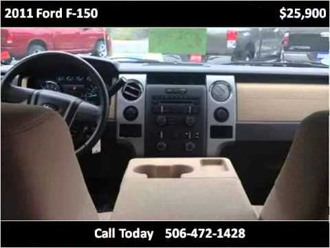 2011 Ford F-150 Used Cars Fredericton New Brunswick