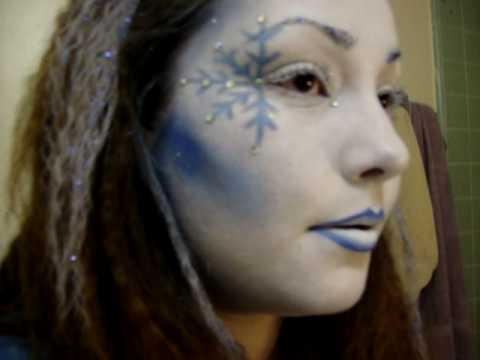fire&amp;ice contest~ Ice Queen Makeup WON 2nd Place