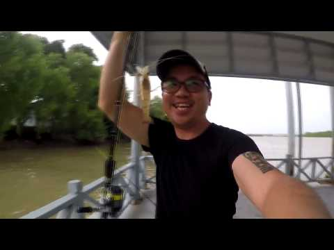 วันพักผ่อน ตกกุ้ง หมายธรรมชาติ : Prawn Fishing