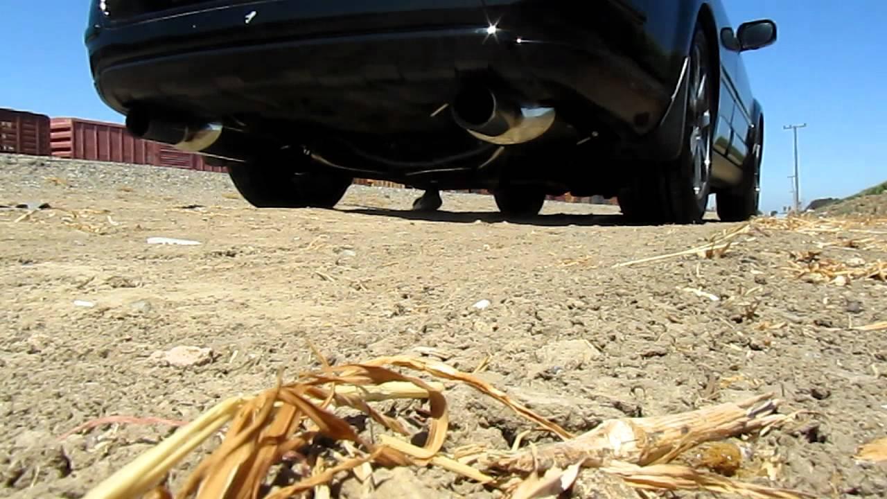 Subaru Outback XT exhaust - YouTube