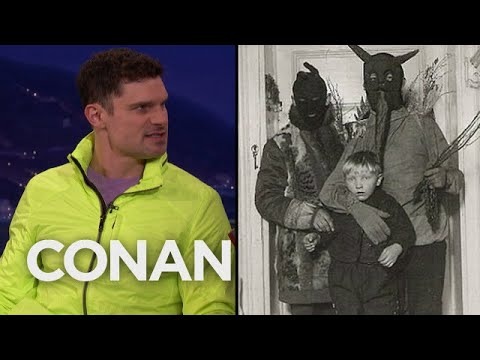 Flula Borg: Christmas Is A Fear-Based Holiday In Germany  - CONAN on TBS