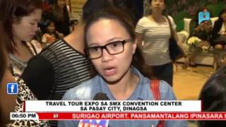 Travel Tour Expo sa SMX Convention Center sa Pasay City, dinagsa