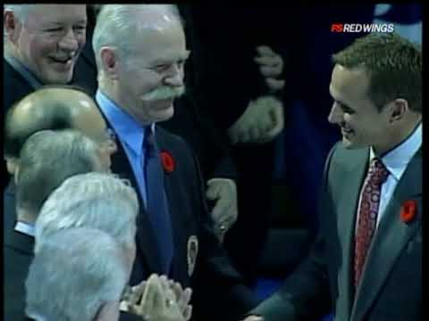 Steve Yzerman's HOF Cermony Toronto 11 6 09 Video