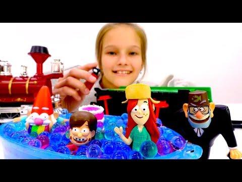 Видео для детей. Друзья из Гравити Фолз отправились в путешествие.