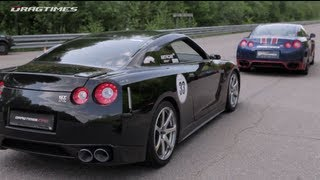 Nissan GT-R Boostlogic Godzilla vs Porsche 911 Proto 1000 vs GT-R EcuTek