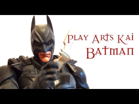 Play Arts Kai Dark Knight Trilogy Batman review