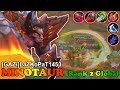 Full Damage Build On Minotaur [GAZi]LaZKoPaT1453] Rank 2 Global Minotaur Mobile Legends Gameplay