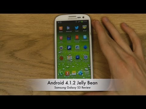 Android 4.1.2 Jelly Bean: Samsung Galaxy S3 Review