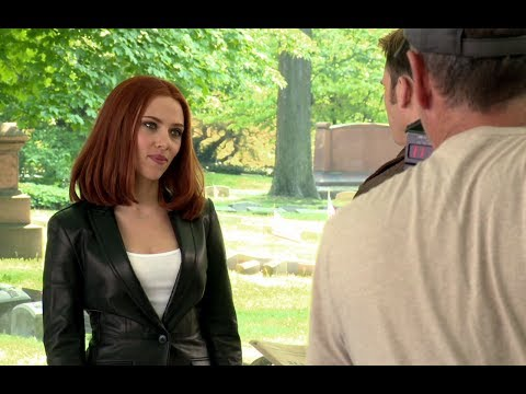 Captain America: The Winter Soldier B-Roll Footage #1 (2014) Chris Evans HD