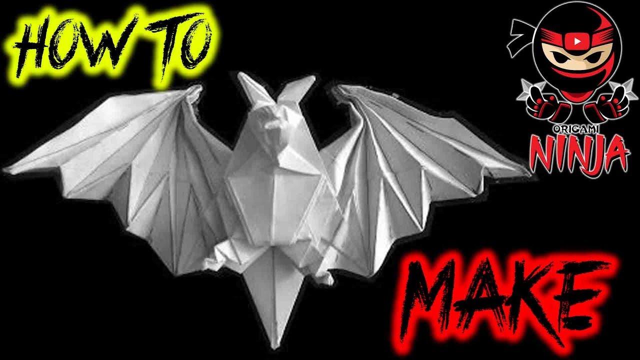 Origami Bat Easy Instructions