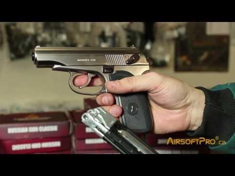WG Makarov CO2 Blowback pistol