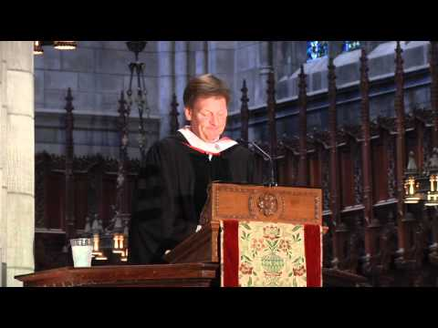 Princeton Baccalaureate 2012: Michael Lewis