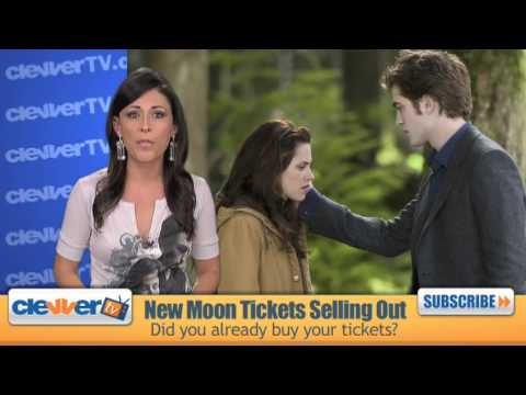 Twilight: New Moon Tickets Selling Out!