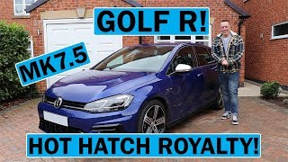 2019 VW Golf R Mk7.5 Review - Hot Hatch Royalty!