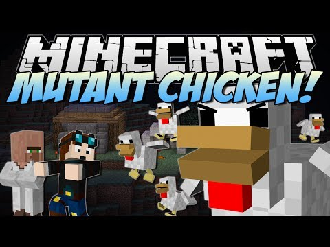 Minecraft | MUTANT CHICKENS! (Meet the Big Mother Clucker!) | Mod Showcase