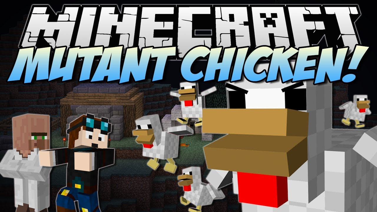 Chicken Minecraft Minecraft | Mutant Chickens