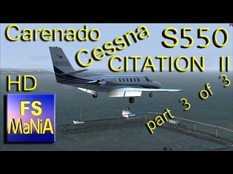 Carenado Cessna Citation Carenado S550 Citation ii Part