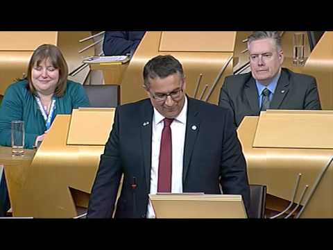 Christian Allard MSP's First Speach - Scottish Parliament: 22nd May 2013