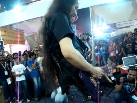 Herman Li live at Palm Expo Mumbai - India