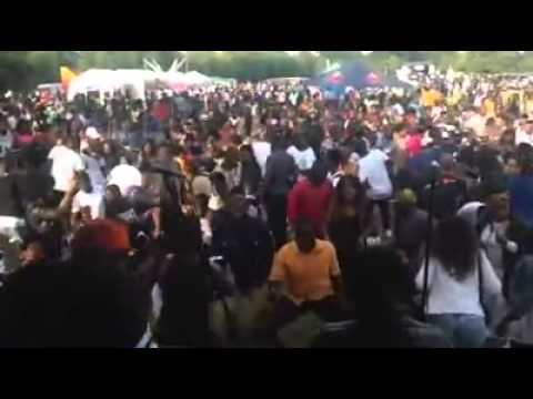 Davison Band Africa at Ghana Party in the Park (Mmaa p3 sokoo)