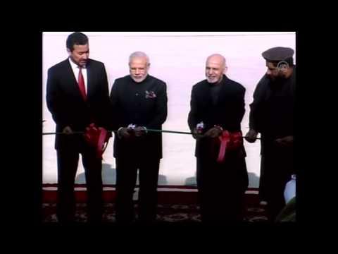 Indian PM Narendra Modi in Afghanistan
