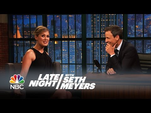 Rosamund Pike On Rehearsing Sex Scenes With Neil Patrick Harris For Gone Girl video