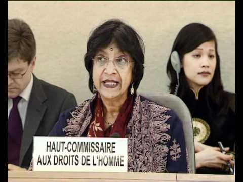 MaximsNewsPEOPLE:  UN HUMAN RIGHTS REPORT  -  UN's NAVI PILLAY