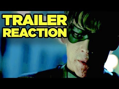 "TITANS Trailer Reaction! Robin ""F--- Batman"" Explained! #SDCC #NewRockstarsNews"