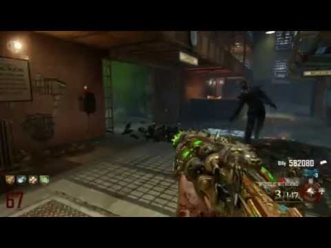 Mob of the Dead PS3 Rounds 51-69 Solo Strategy Gameplay LIVE - Black Ops 2 Zombies by TheRelaxingEnd