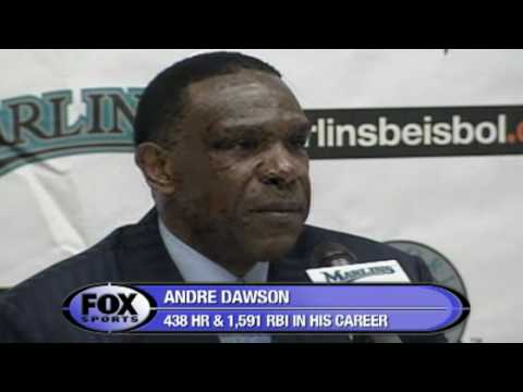 Andre Dawson's HOF Speech Video
