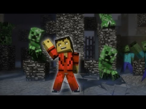 "♫ ""Creeper"" - A Minecraft Parody of Michael Jackson s Thriller (Music Video)"