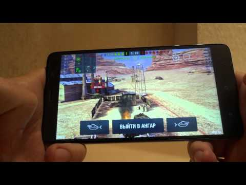 Game test WoT Blitz for Xiaomi redmi note 3 (тестирование игры на xiaomi redmi note 3)
