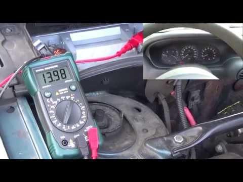 Probar su circuito de carga : prueba de la batería y del alternador