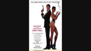 A View To Kill. music theme JAMES BOND 007 PART  2