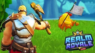 Is This BETTER THAN FORTNITE? - Realm Royale Gameplay