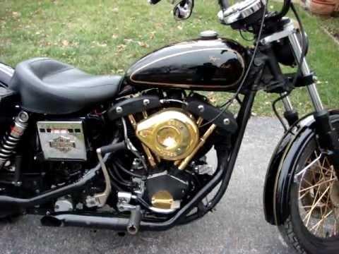1977 Harley Davidson Fxe Stroker Shovelhead Youtube
