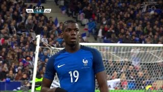 Paul Pogba vs Russia Home (29/03/2016) HD