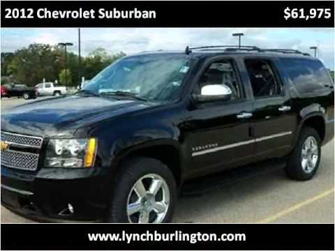 2012 Chevrolet Suburban New Cars Burlington WI